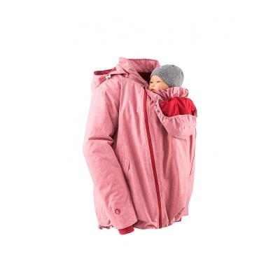 MAMALILA Veste de grossesse et de portage HIVER – ROSE DENIM
