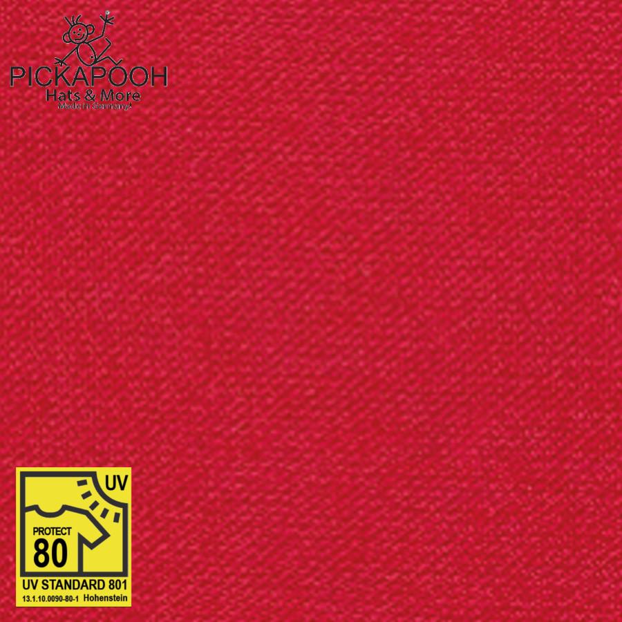 """Racine PICKAPOOH –  CASQUETTE DE SOLEIL ENFANT """"HENRI"""" - ROUGE (UV80)"""