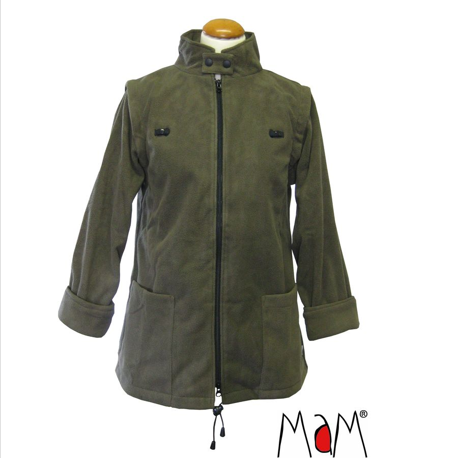 Vêtement de portage et de grossesse MaM Two Way Jacket DELUXE – OLIVE