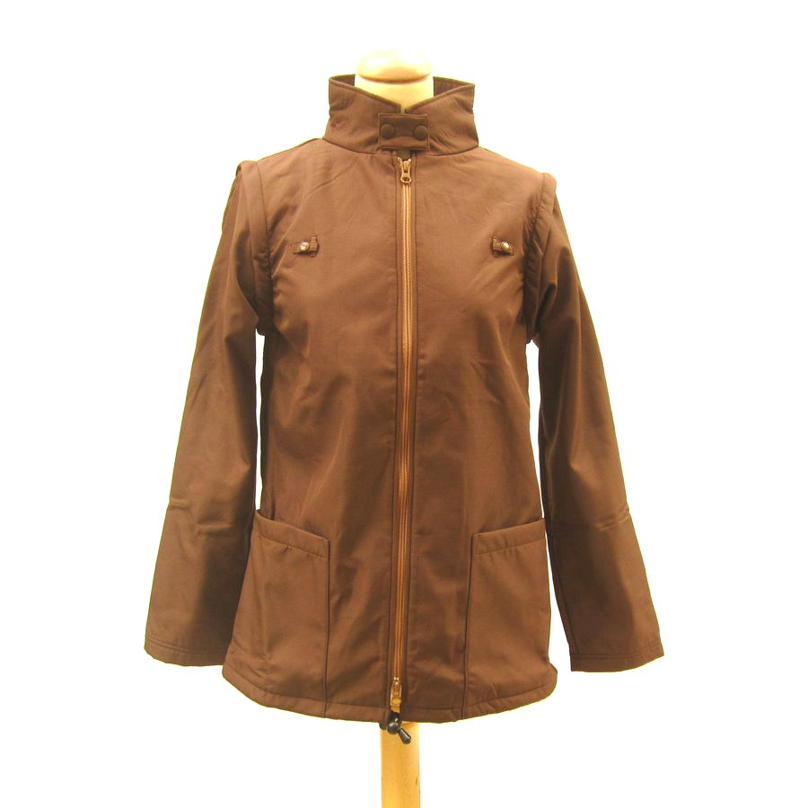 Racine MaM Two Way Jacket WENGE-NOISETTE – déperlant