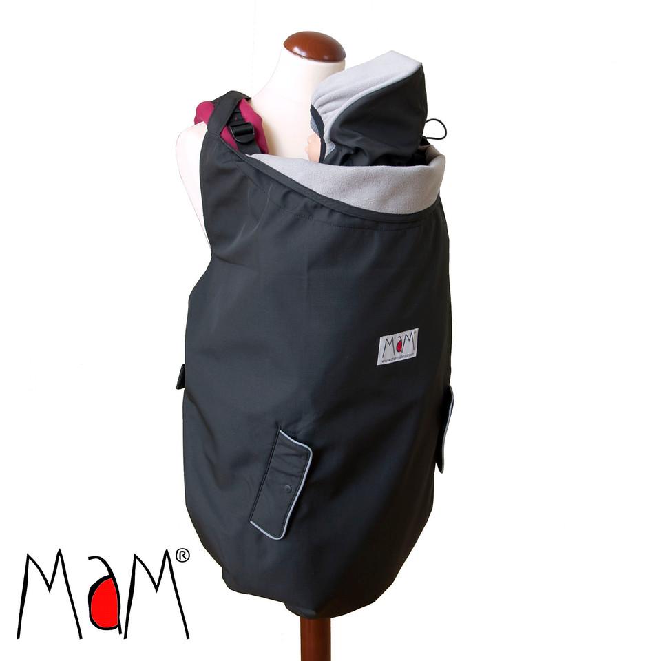 Racine MaM 4-SEASON DELUXE BABYWEARING COVER – Couverture de portage 4-SAISONS waterproof déperlant