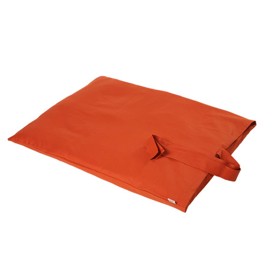 Porte bonheur zabuton tapis d 39 assise 70x90cm yoga for Housse tapis yoga