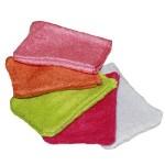LES TENDANCES D'EMMA - carrés démaquillants lavables, serviette à cheveux et autres produits/Gants d'apprentissage pour petits enfants