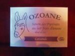 Savons au lait d'ânesse OZOANE/Savon surgras à la LAVANDE
