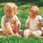 SOUS-VÊTEMENTS pour bébés et enfants/SOUS-PULL en 100% LAINE VIERGE BIO, coloris ECRU  (tailles 62 à 140)
