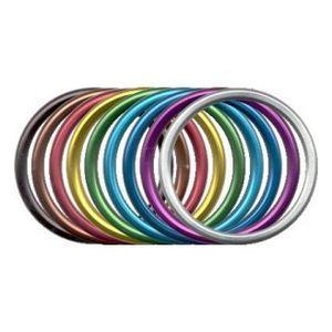 Anneau de portage, anneaux aluminium pour sling - Anneaux