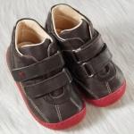 POLOLO MINI - chaussures en cuir naturel pour bébés du 19 au 25/Chaussure Pololo GASPAR MARRON (19 au 25)