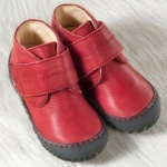 POLOLO MAXI - chaussures pour enfants en cuir écologique  du 24 au 34/Pololo – Chaussure à velcro ELCHE ROUGE (24 au 34)