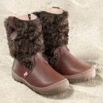 POLOLO MAXI - chaussures pour enfants en cuir écologique  du 24 au 34/Pololo – Bottes YETI  COCO (24 au 34)