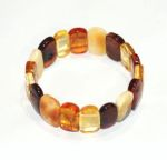 Bracelets/Bracelets d'ambre PLAQUES MULTICOULEURS pour ADULTE