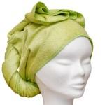 LES TENDANCES D'EMMA - carrés démaquillants lavables, serviette à cheveux et autres produits/Tendances d'Emma – SERVIETTE A CHEVEUX en bambou