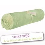 LES TENDANCES D'EMMA - carrés démaquillants lavables, serviette à cheveux et autres produits/Tendances d'Emma – DRAP DE BAIN BAMBOU