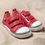 POLOLO MAXI - chaussures pour enfants en cuir écologique  du 24 au 34/Pololo – Baskets SOL BERRY (24 au 34)