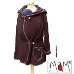 Vêtement de portage et de grossesse/MaM MOTHERHOOD COAT – Veste de maternité évolutive en POLAIRE