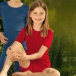 SOUS-VÊTEMENTS pour bébés et enfants/SOUS-PULL et LEGGINGS  ROUGE en Laine/soie (86-152)