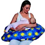 THERALINE ORIGINAL - Le grand coussin d'allaitement et de maternité/ «CIEL BLEU» - THERALINE ORIGINAL Coussin d'allaitement