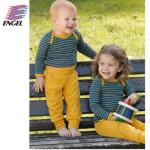 SOUS-VÊTEMENTS pour bébés et enfants/ENGEL – SOUS-PANTALON BEBE JAUNE SOLEIL en PURE LAINE VIERGE BIO (62-92)
