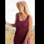 ENGEL NATUR - Laine et soie pour adultes/DEBARDEUR en laine/soie FEMME – ORCHIDEE