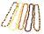 Bijoux en Ambre/Colliers d'ambre BAROQUE