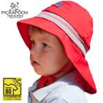 SOLDES Chapeaux et Bonnets/PICKAPOOH – CHAPEAU DE SOLEIL POMPIER – ROUGE (UV80)