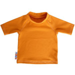 Couches lavables/UV-TEE – T-SHIRT BEBE ANTI-UV ORANGE (UV50)