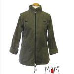 Vêtement de portage et de grossesse/MaM Two Way Jacket DELUXE – OLIVE
