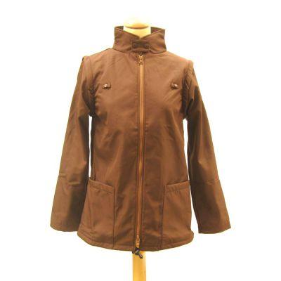Racine MaM Two Way Jacket WENGE-NOISETTE – imperméable