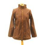 Vêtement de portage et de grossesse/MaM Two Way Jacket WENGE-NOISETTE – déperlant