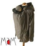 Vêtement de portage et de grossesse/MaM COAT ANTHRACITE/NOIR