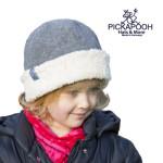 CHAPEAUX ET BONNETS/PICKAPOOH - Bonnet en laine JO - GRIS