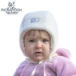 PICKAPOOH - Bonnets et Chapeaux/PICKAPOOH - Bonnet Bébé en laine JAN - ECRU
