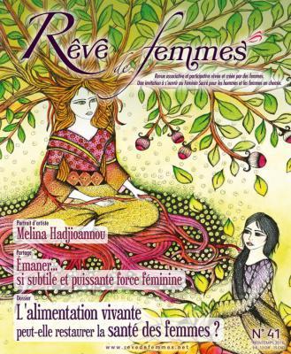 RÊVE DE FEMMES RÊVE DE FEMMES N°41 - L'ALIMENTATION VIVANTE