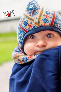 Racine MaM FLEX WINTER BABYWEARING COVER – Couverture de portage HIVER FLEX