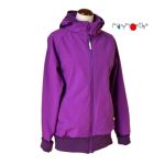 MaM SOFTSHELL JACKET - VIOLET CHIMERA