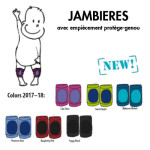 MANYMONTHS Collection LAINE/MANYMONTHS – JAMBIERES Protège-genoux