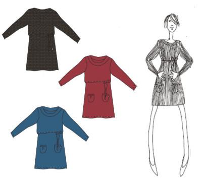 Racine MaM Natural Woollies – TUNIQUE de matenité en laine mérinos