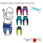 MANYMONTHS Collection LAINE/MANYMONTHS – KANGOROO PANTS – Sarouel en pure laine mérinos