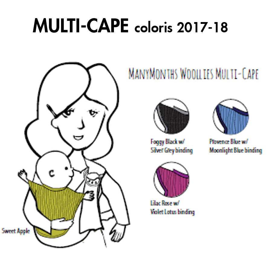 Racine MANYMONTHS – MULTI-CAPE en pure laine mérinos