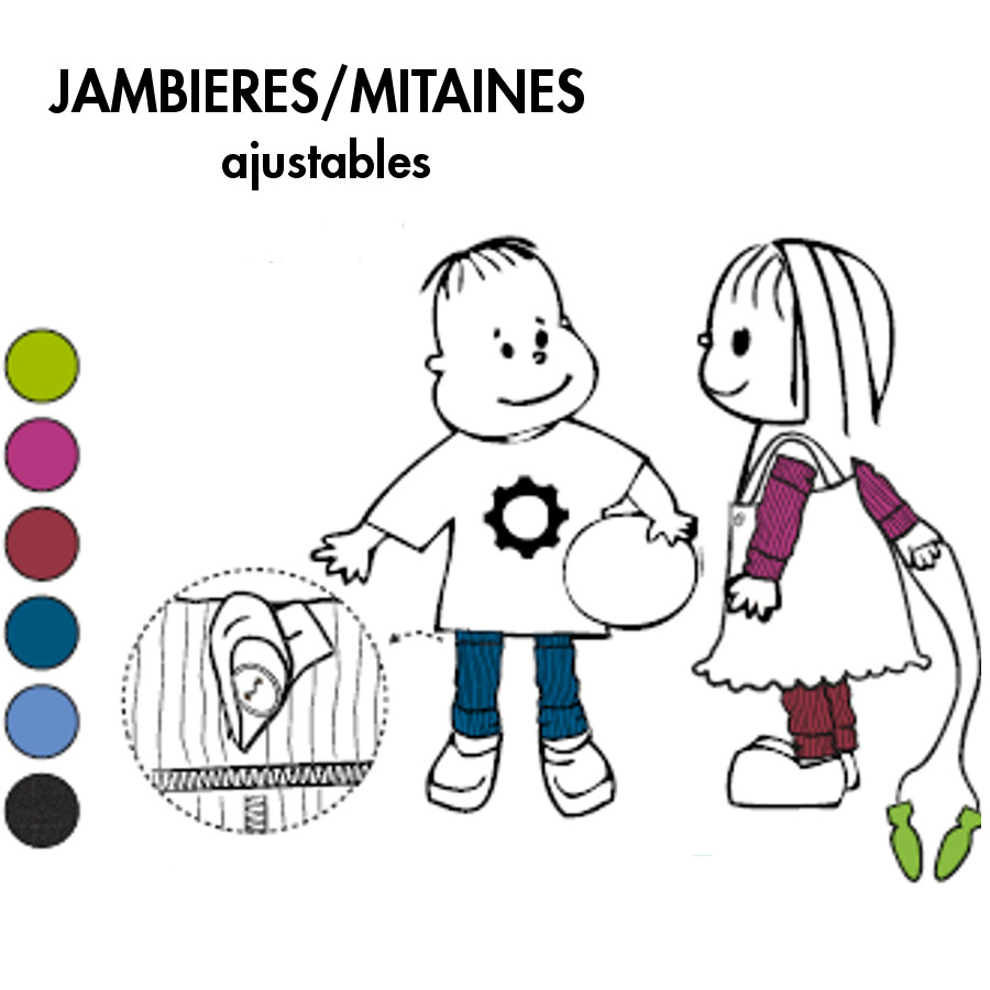 Racine MANYMONTHS – JAMBIERES ou MITAINES