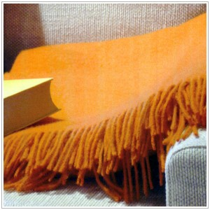 Racine Plaids en pure laine vierge Mérinos