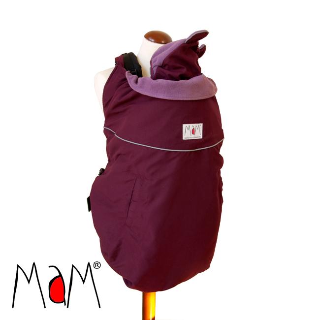 Racine MaM DELUXE ORIGINAL BABYWEARING COVER - Couverture de portage réversible, chaude et waterproof