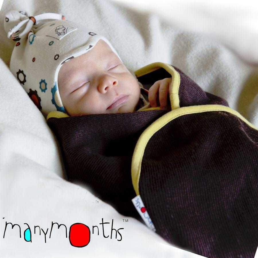 Racine MANYMONTHS – COUVERTURE pour Bébé en laine mérinos
