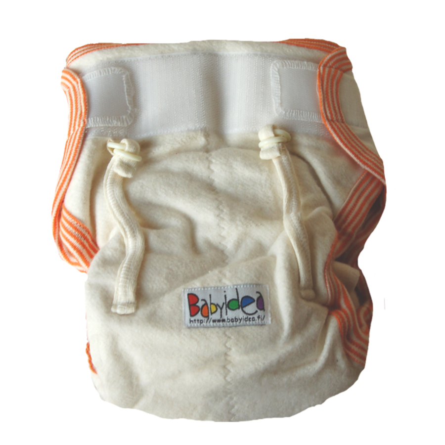 Racine HEMP HOUR EXTRA VELCRO – couche lavables en coton bio et chanvre fermeture velcro