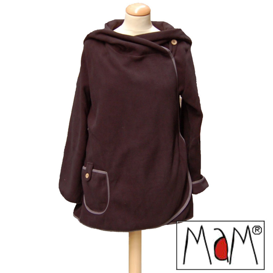 Racine MaM MOTHERHOOD COAT – Veste de maternité évolutive Polaire imperméable
