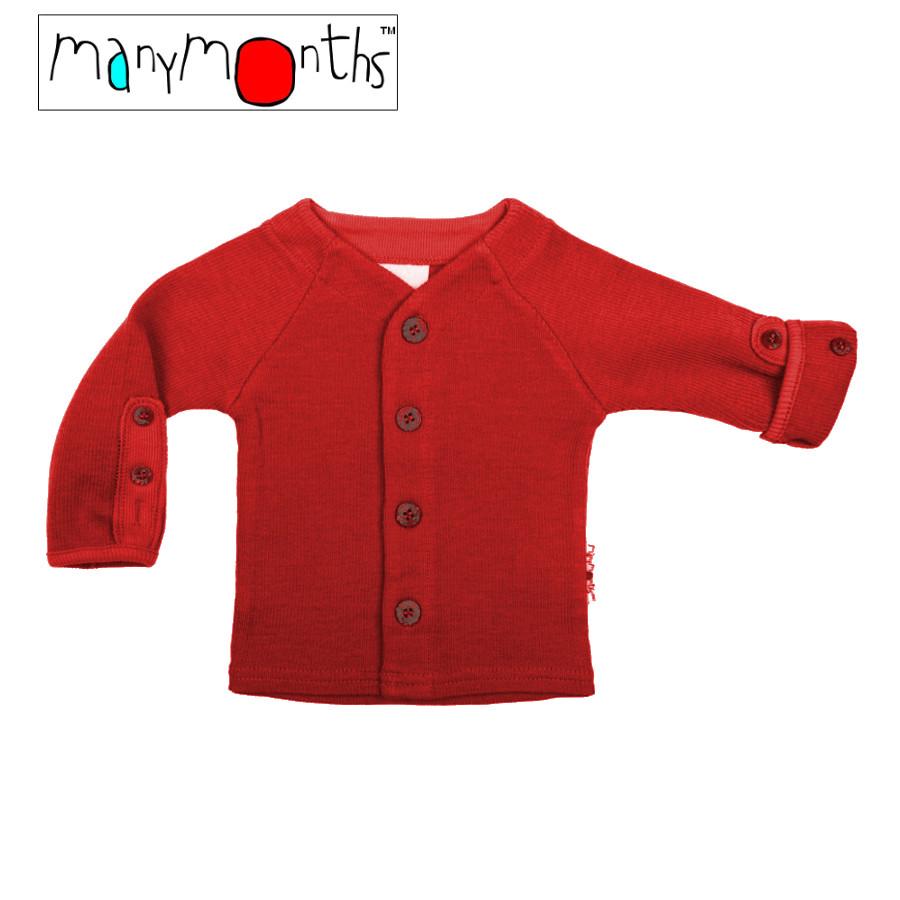 Racine MANYMONTHS – GILET bébé en pure laine mérinos