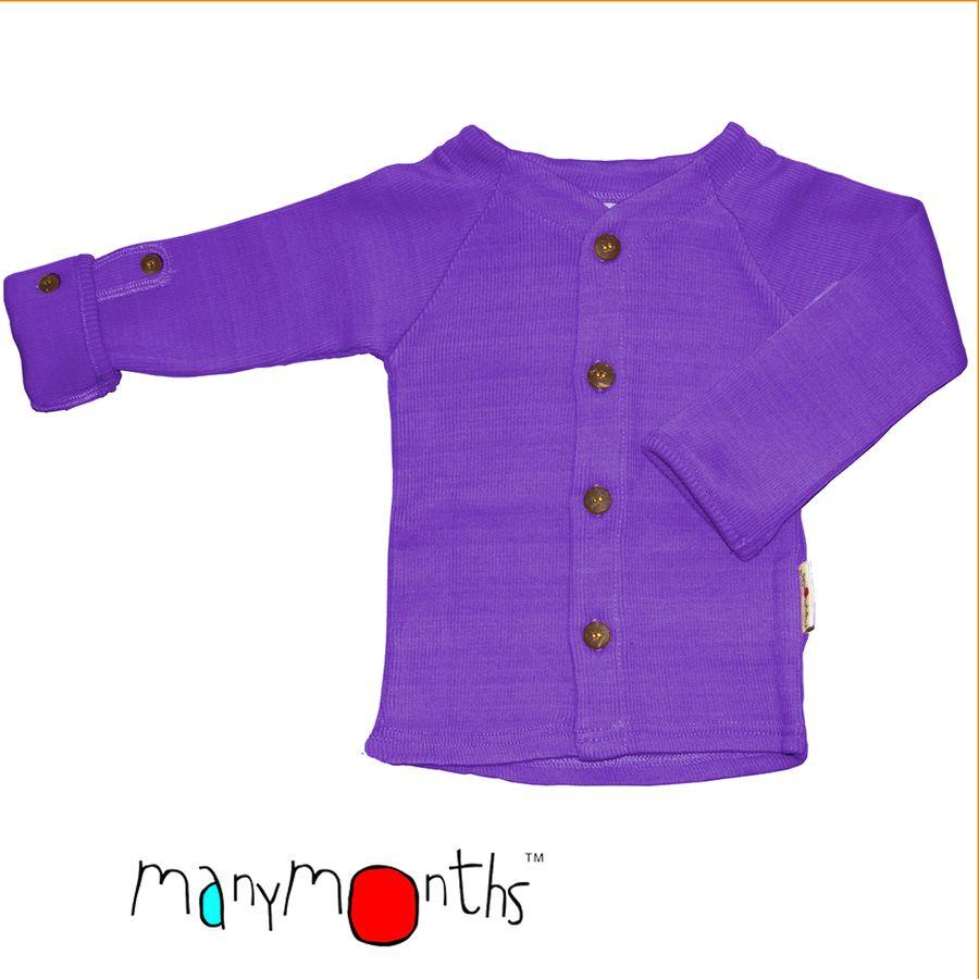 Racine MANYMONTHS – GILET en pure laine mérinos