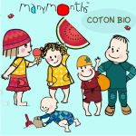 Collection MANYMONTHS en  COTON BIO