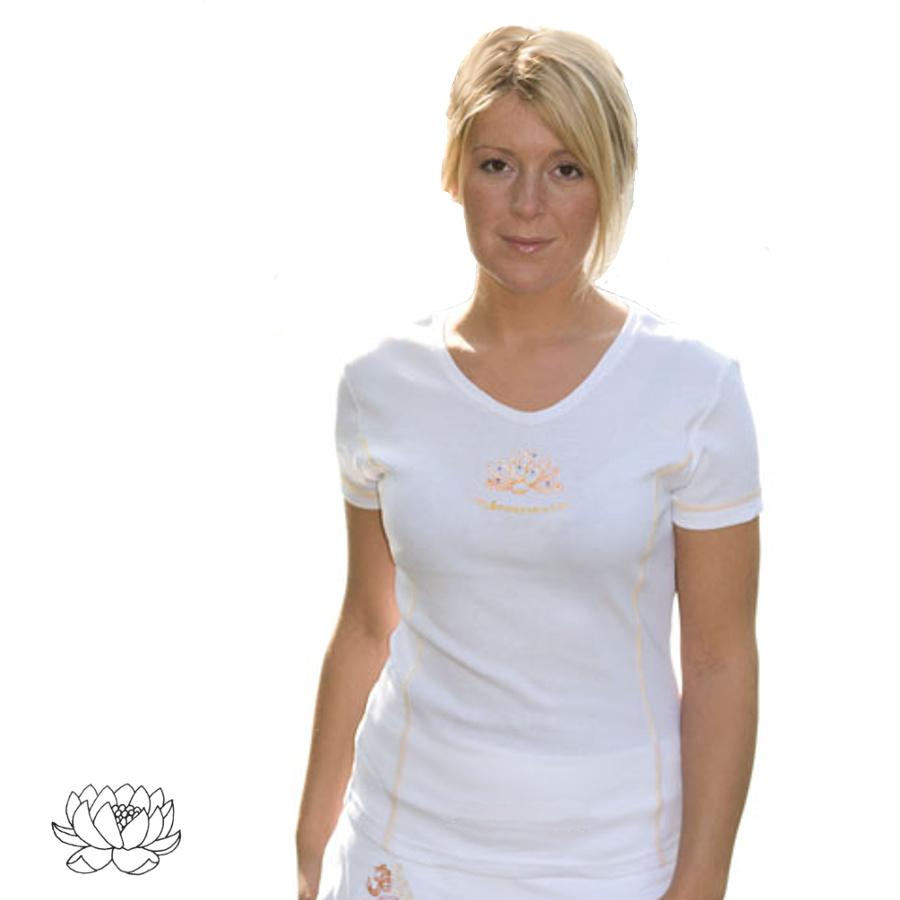 Fin de séries T-Shirt - LOTUS BLANC manches courtes