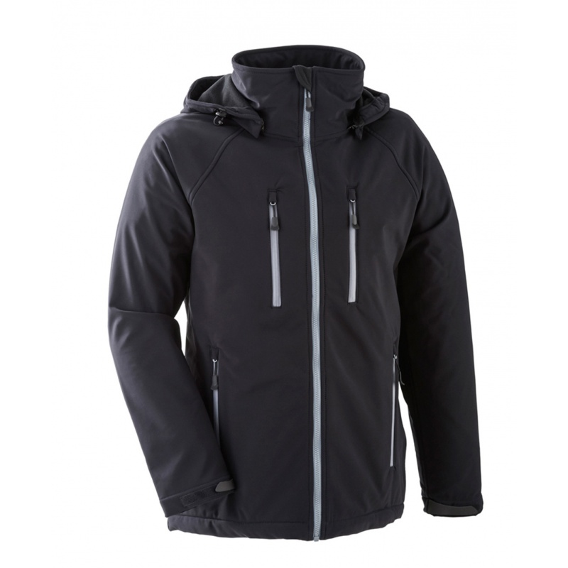 Vestes et manteaux MAMALILA outdoor MAMALILA - Veste de portage OUTDOOR Homme - SOFTSHELL NOIR