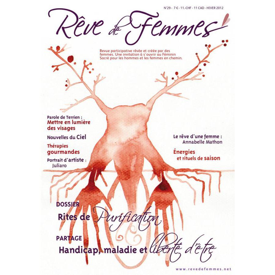 Rêve de femmes RÊVE DE FEMMES N°29 - RITES DE PURIFICATION